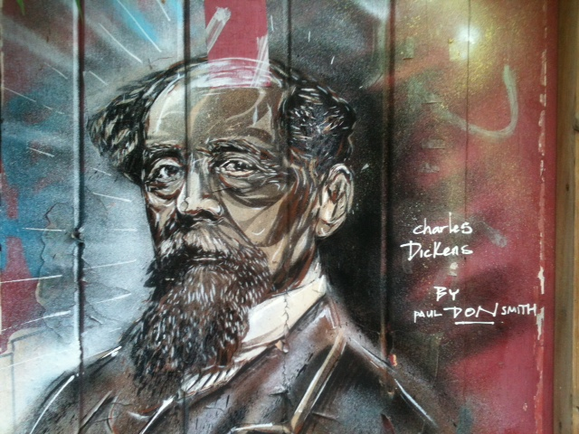 Dickens in Graffiti