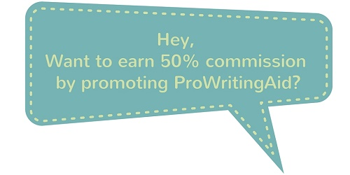 How your personal blog can generate income through the ProWritingAid affiliate program