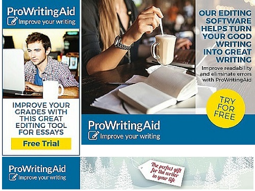 ProWritingAid Affiliate Ads