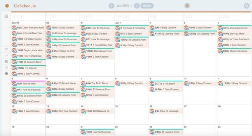 Co Schedule