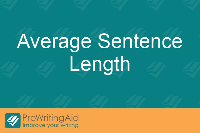 How long should my sentences be?